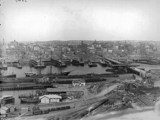 Darling Harbour, Pyrmont, about 1900