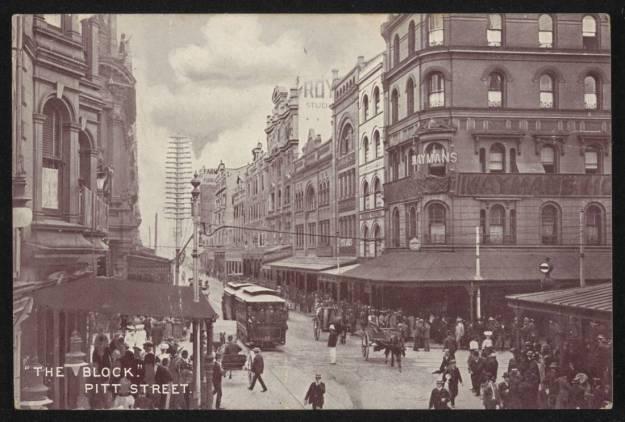 Sydney 1917, Pitt Street