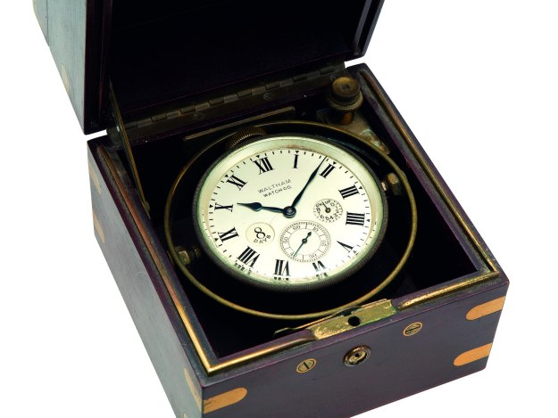 Waltham Boxed Naval Chronometer 1910