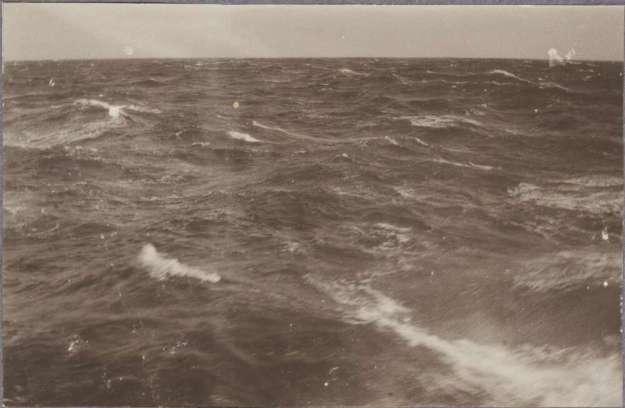 Karl Lehmann 1914 Wellen in der Nordsee