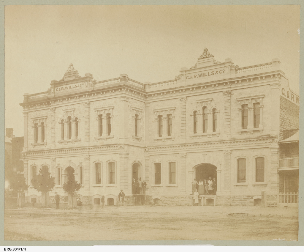 Wills and Co North Terrace Adelaide
