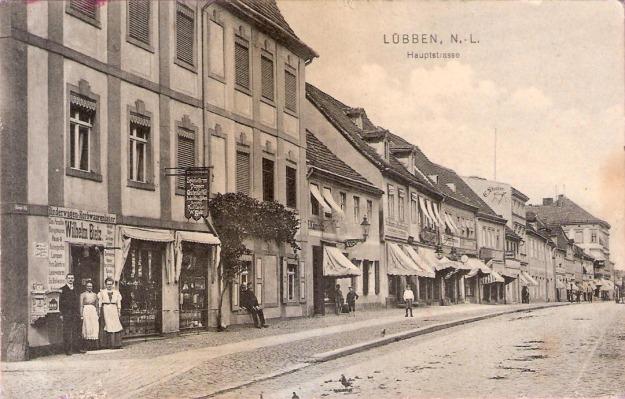 Lübben, Spreewald, 1910