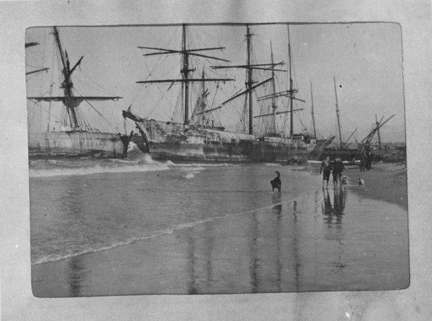 Hurricane in Algoa Bay 1902