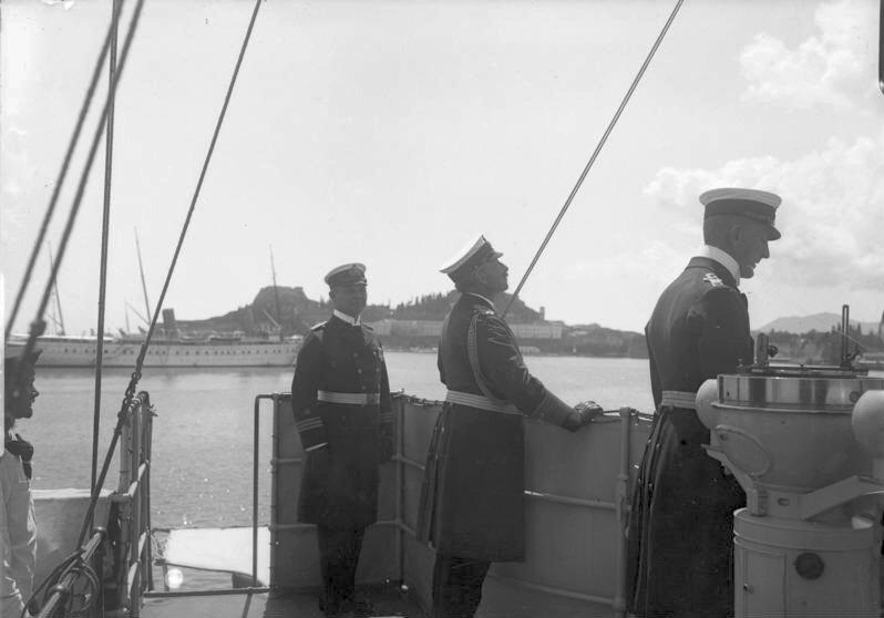 SMS Geier, Kaiser Wilhelm II.