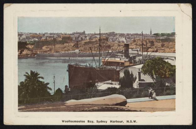 Woolloomooloo Bay, Sydney 1910