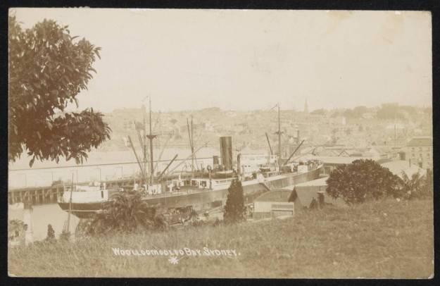 Woolloomooloo Bay 1913