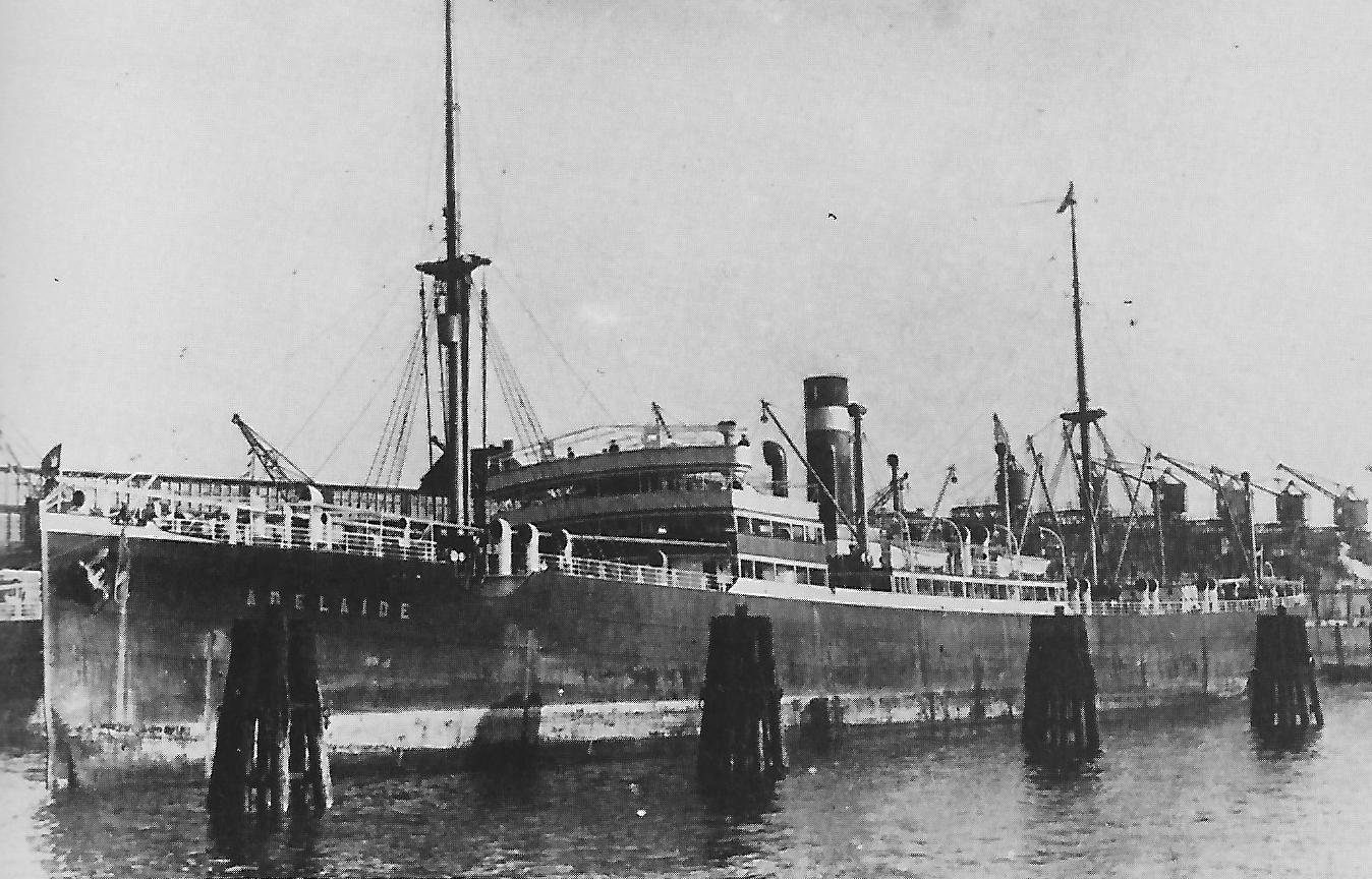 Adelaide ship 1911 German Australian Line