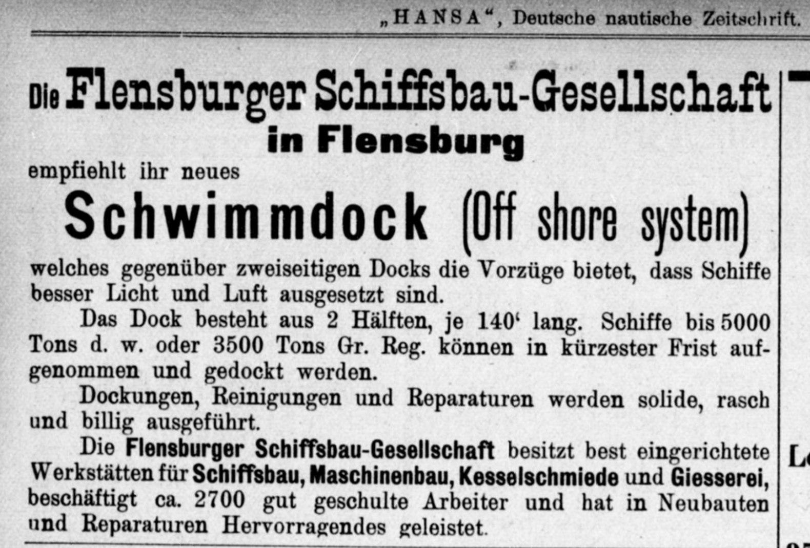 Flensburger Schiffbau Gesellschaft