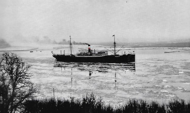 Hagen, Frachtdampfer, 1909