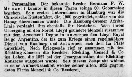 Hermann Menzell 1929