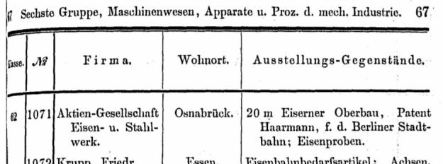 Osnabrück, Weltausstellung Melbourne 1880