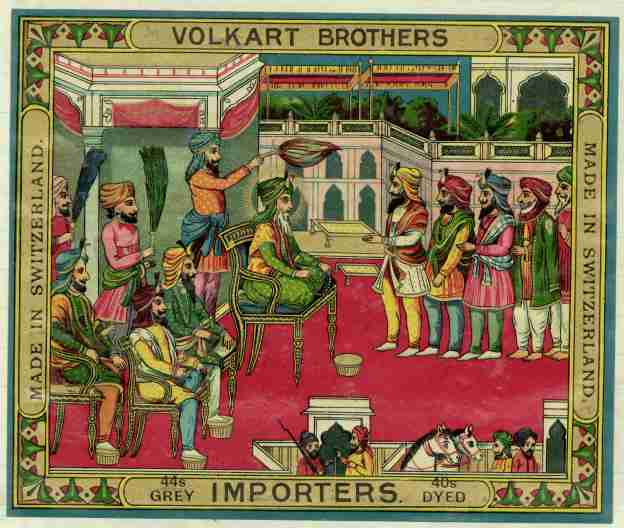 Volkart Brothers Label Yarn