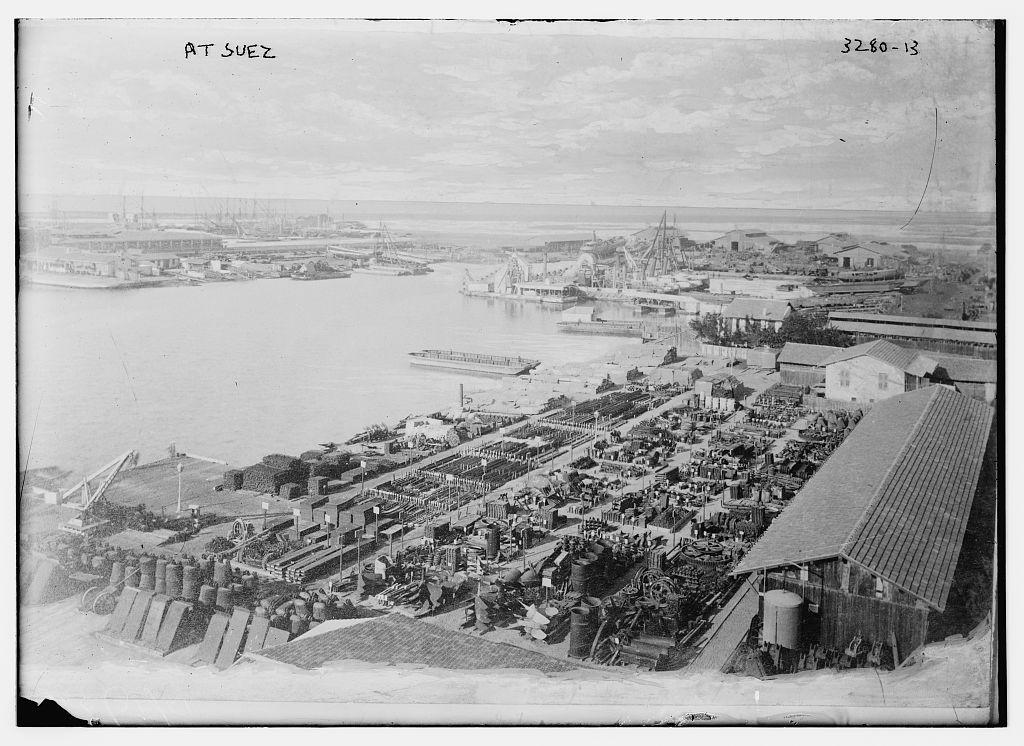 Suez Egypt 1914