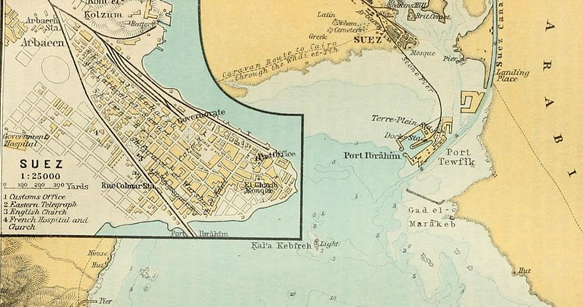 Suez and Port Tewfik