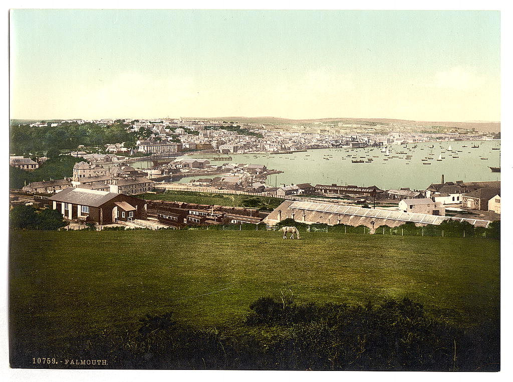 Falmouth, Cornwall, about 1890