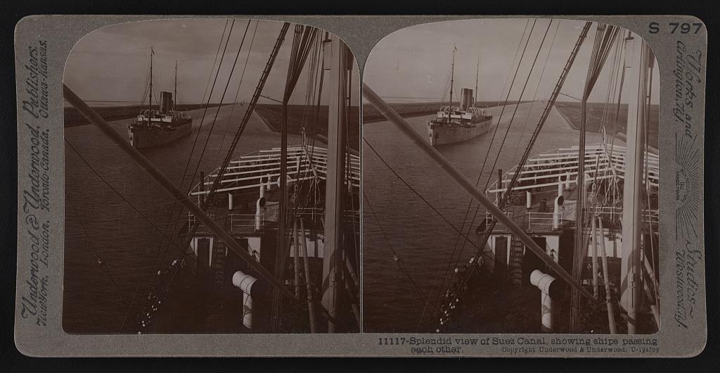 Suez canal about 1913