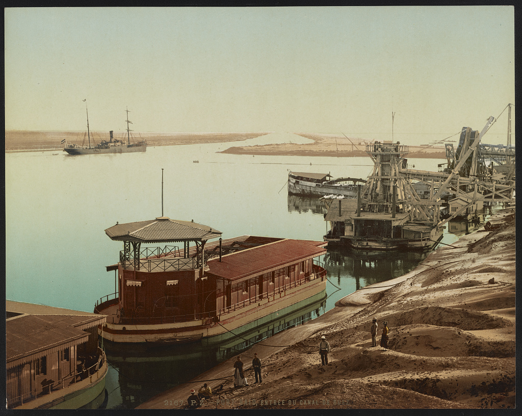 Port Said about 1900