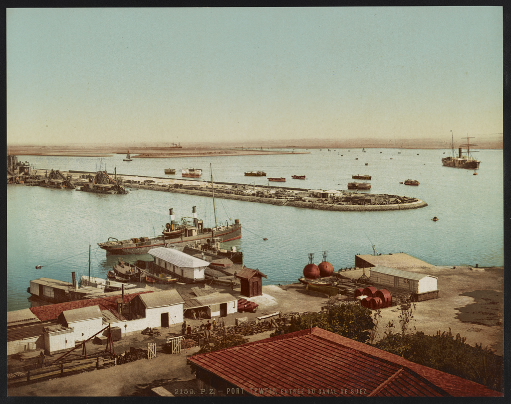 Port Tewfic, Suez canal
