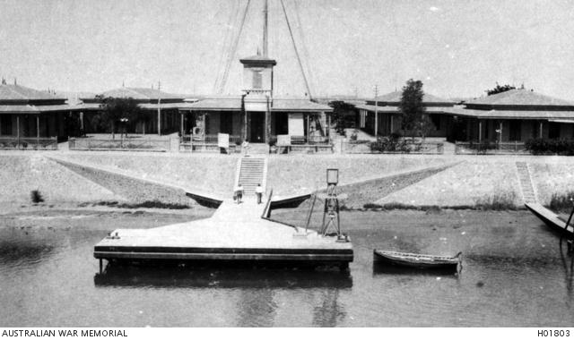 Suez canal, signal station, 1919