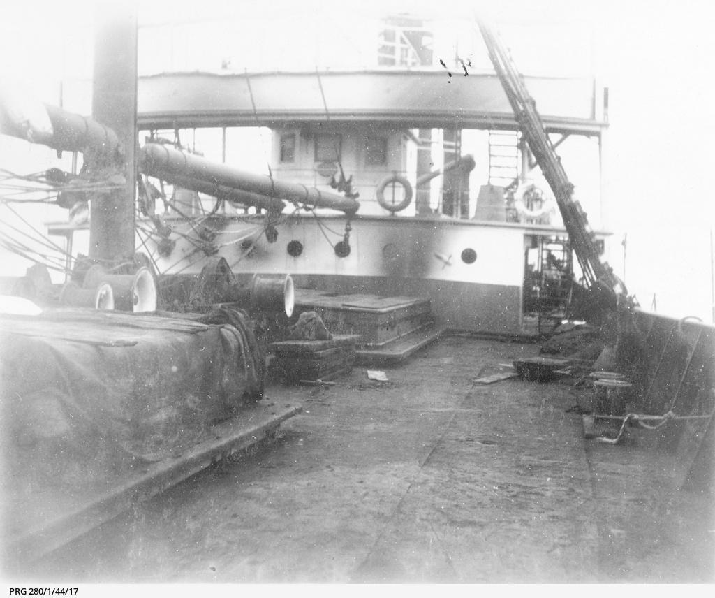 fire on board, 1910