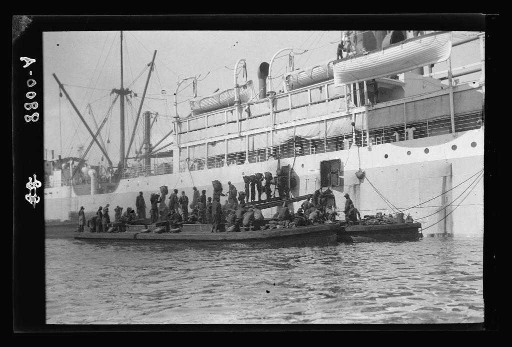 coaling Port Said 1934