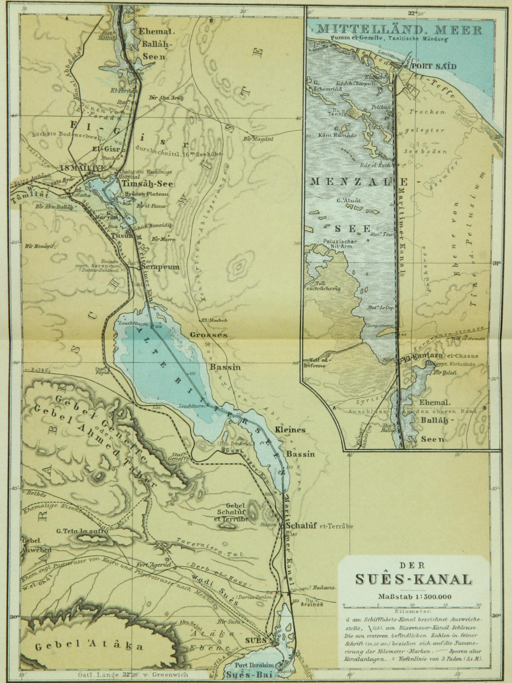 Suez canal 1914