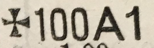 Klassifikation 100A1 in Lloyd's Register