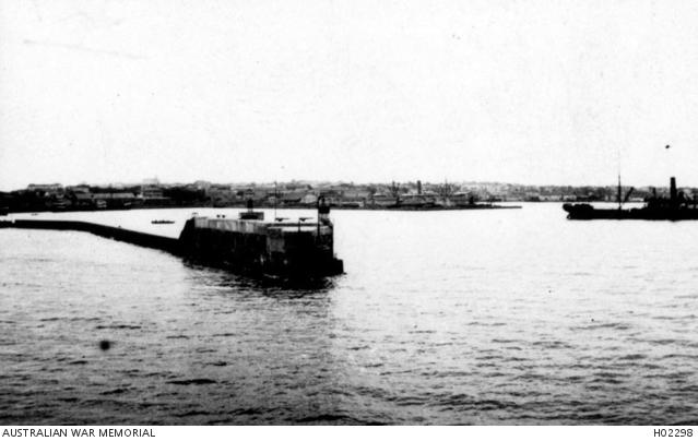 Dakar Harbour about 1915