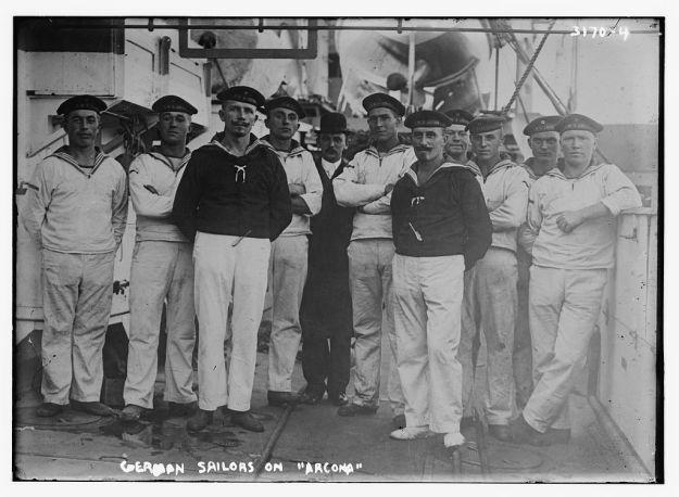 SMS Arcona, 1910, sailors