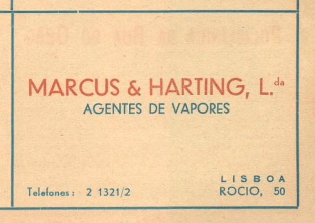 Marcus & Harting, Lissabon, Lisboa