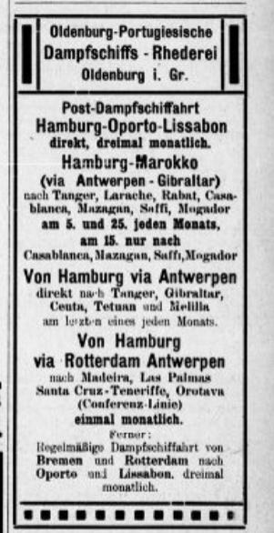 Oldenburg-Portugiesische 1912