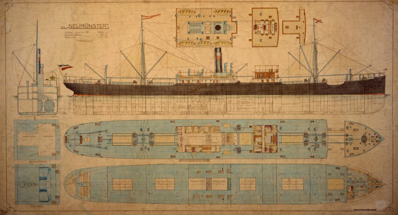 Dampfschiff Neumünster 1907, DADG