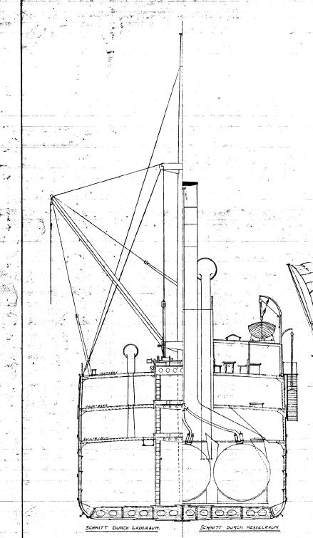 Reichenbach 1907, Schnittzeichnung