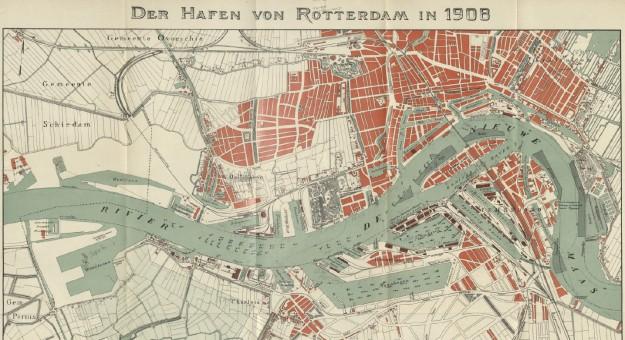 Hafen Rotterdam 1908