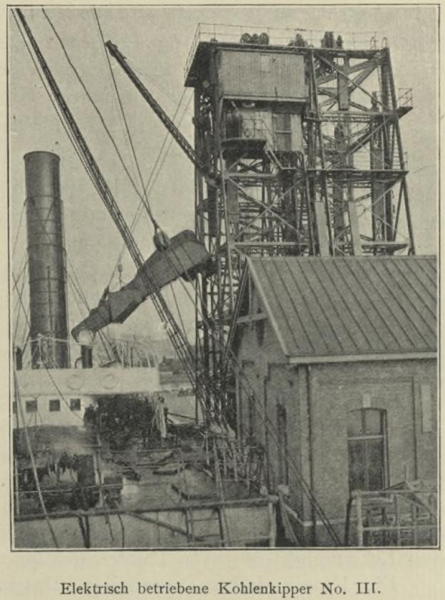 Kohlenkipper Rotterdam 1908