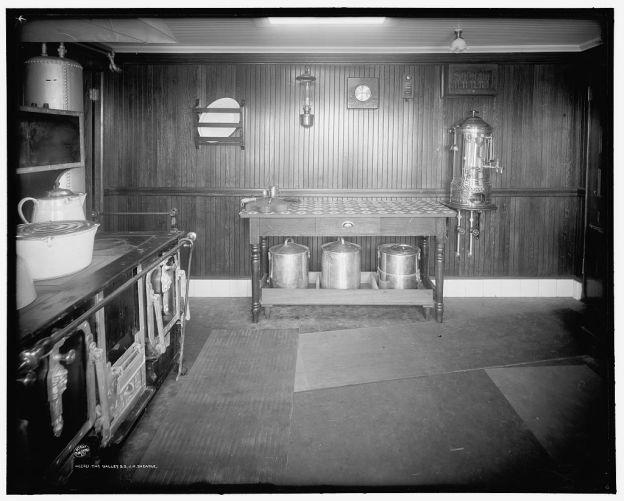 Kombüse Frachtschiff 1906