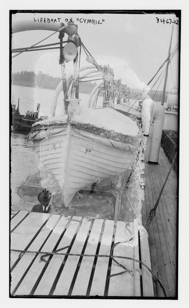 Cymric 1910 lifeboat