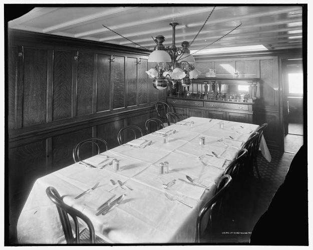 Offiziersmesse 1906