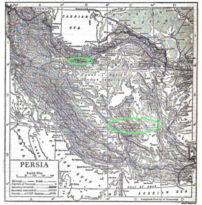 Kerman, Iran, Persia