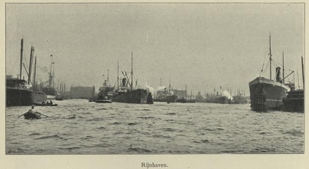 Rheinhafen Rotterdam