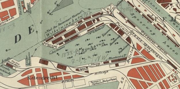 Rheinhafen Rotterdam 1908