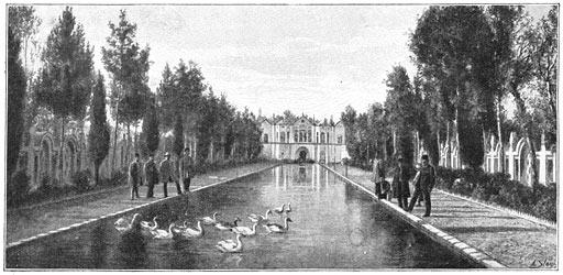 Kerman, Iran, Persien, vor 1906