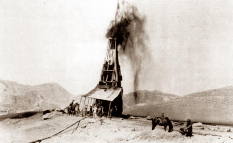 Masjed Soleiman gusher 1908