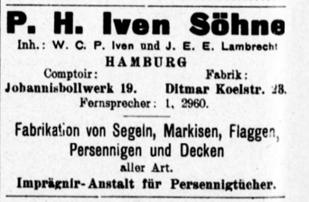 Iven Söhne Hamburg