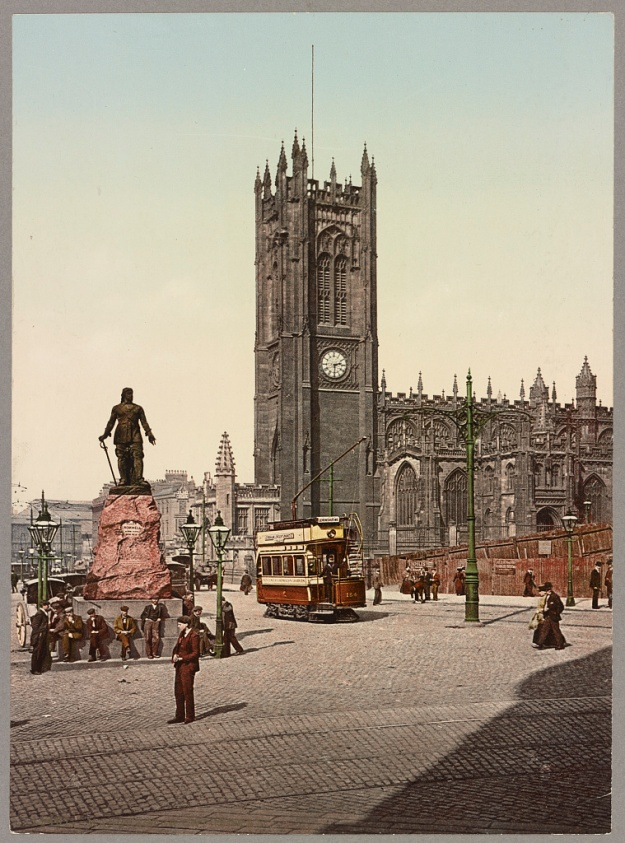 Manchester Cathedral 1890