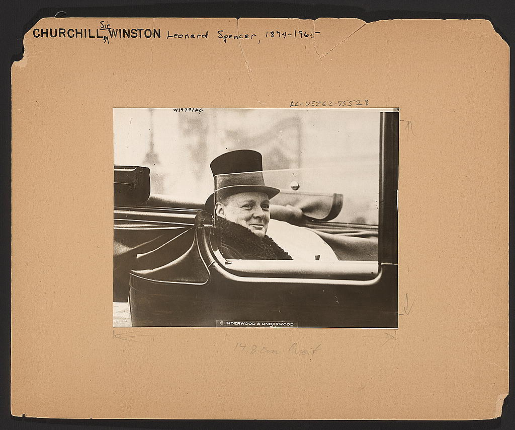 Winston Churchill 1924