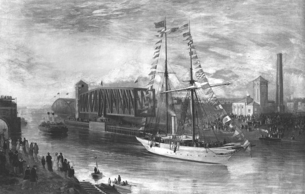 Barton Swing Aqueduct 1894