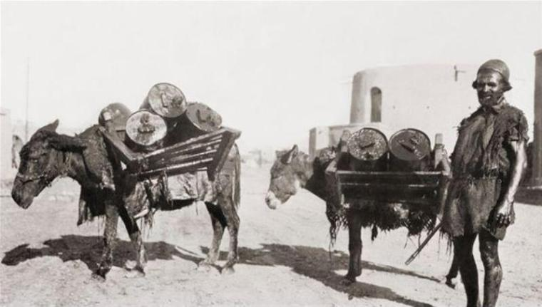 petroleum transport, Persia 1910