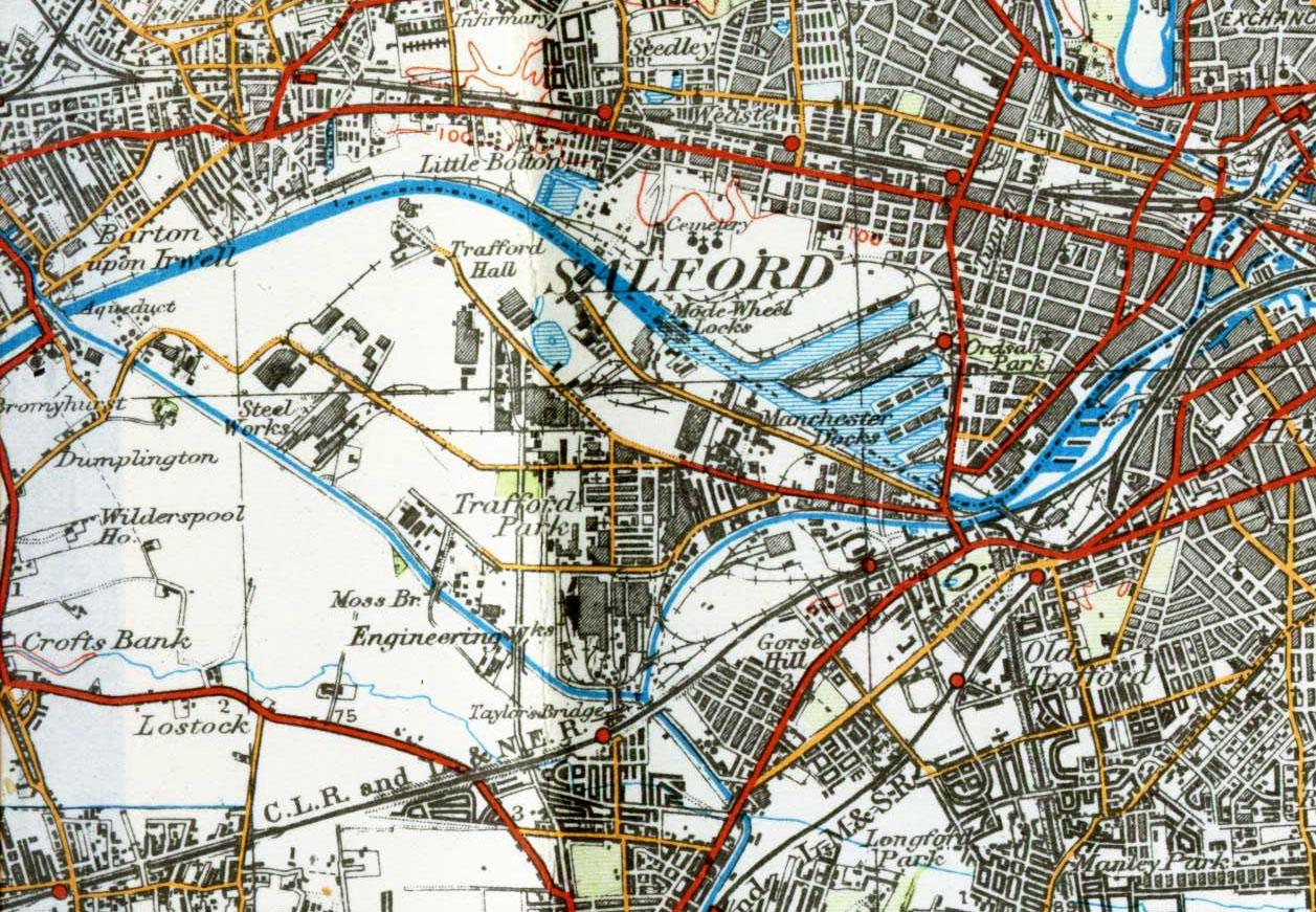 Salford Docks 1924