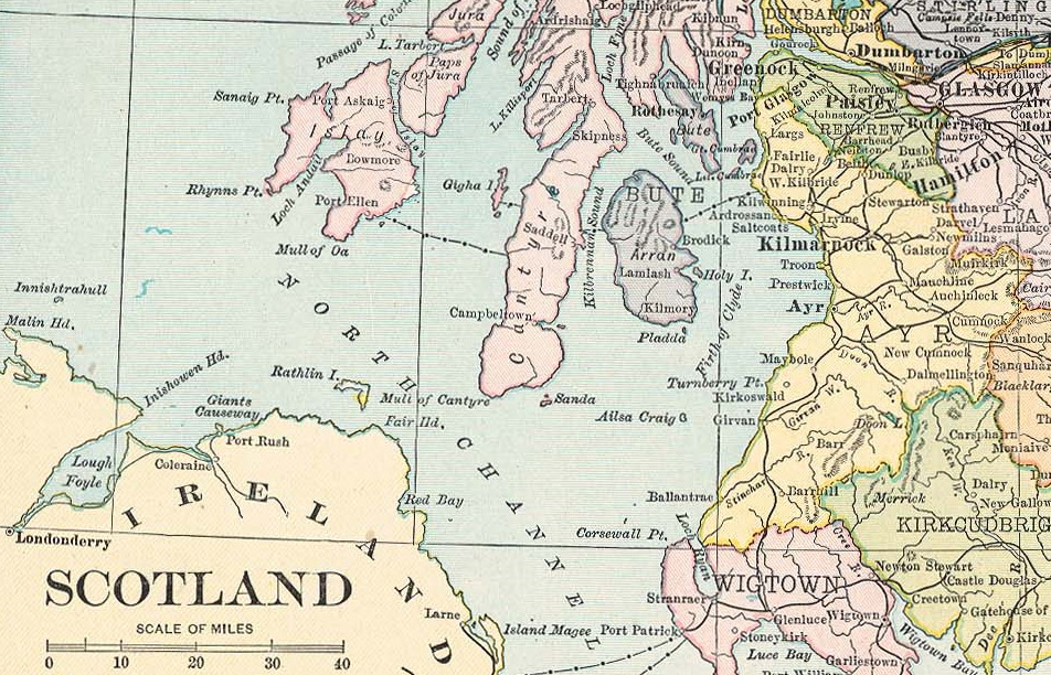 Firth of Clyde 1921